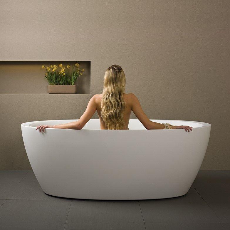 Ванна из искусственного камня Balteco Senzo. Размер: 178x88