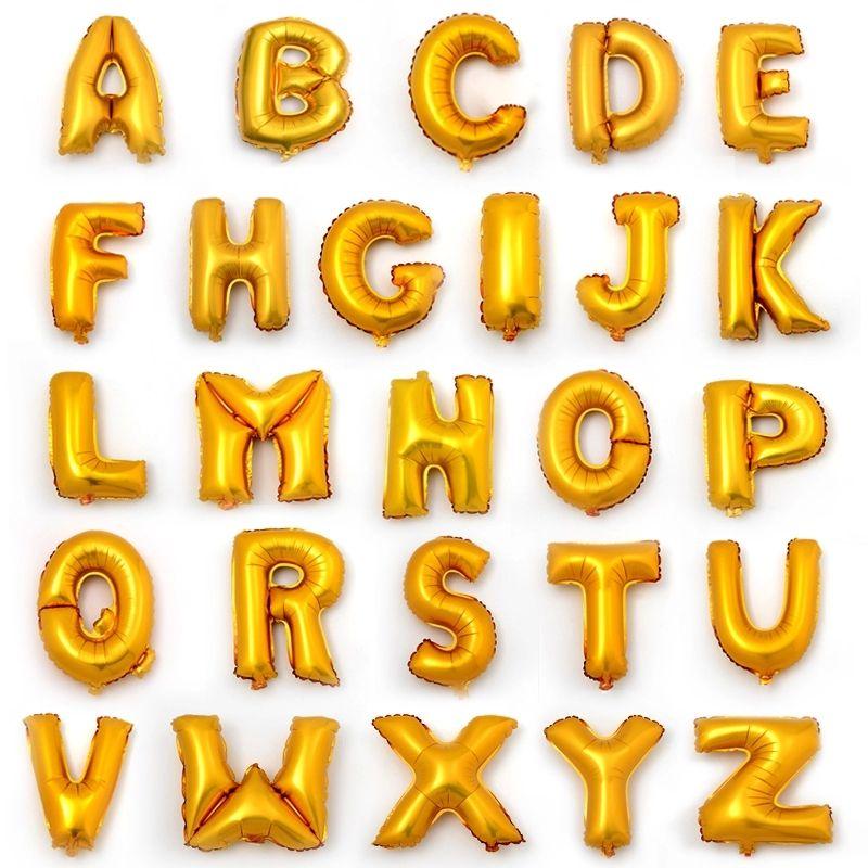 Фольгированные буквы, шар буква, ярославль