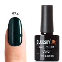 Bluesky (Блюскай) 80574 Serene Green гель-лак, 10 мл