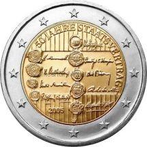 Австрия 2 евро 2005 50 лет Договору о нейтралитете
