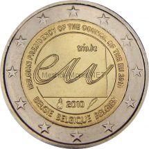 Бельгия 2 евро 2010, Председательство Бельгии в ЕС