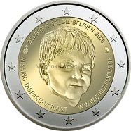 Бельгия 2 евро 2016, 20 лет Европейскому центру по делам пропавших детей