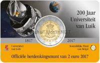 Бельгия 2 евро 2017, Университет Льеж (Буклет)