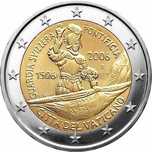 Ватикан 2 евро 2006, 500 лет папской швейцарской гвардии (буклет)