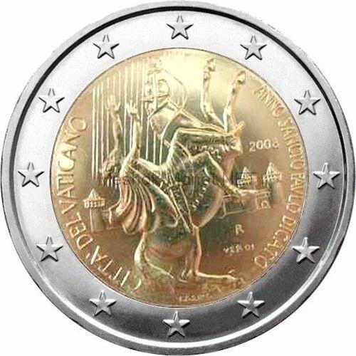 Ватикан 2 евро 2008, 2000 лет со дня рождения святого апостола Павла (буклет)
