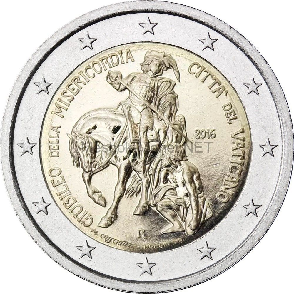 Ватикан 2 евро 2016, Юбилейный год милосердия