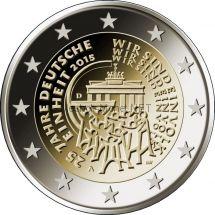 Германия 2 евро 2015, 25-летие объединения Германии