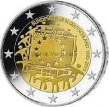 Германия 2 евро 2015, 30 лет флагу евросоюза