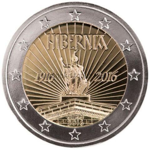 Ирландия 2 евро 2016 Пасхальное восстание