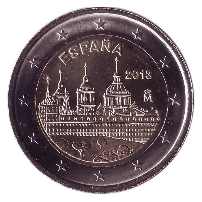 Испания 2 евро 2013, Монастырь Эскориал