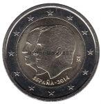 Испания 2 евро 2014, Провозглашение королём Филипа VI