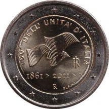 Италия 2 евро 2011, 150 лет объединения Италии