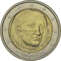 Италия 2 евро 2013, 700 лет со дня рождения Джованни Боккаччо