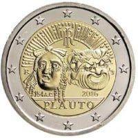 Италия 2 евро 2016, Плавт