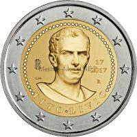 Италия 2 евро 2017, 2000 лет со дня смерти Тита Ливия
