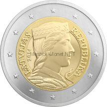 Латвия, 2 евро 2014, Милда