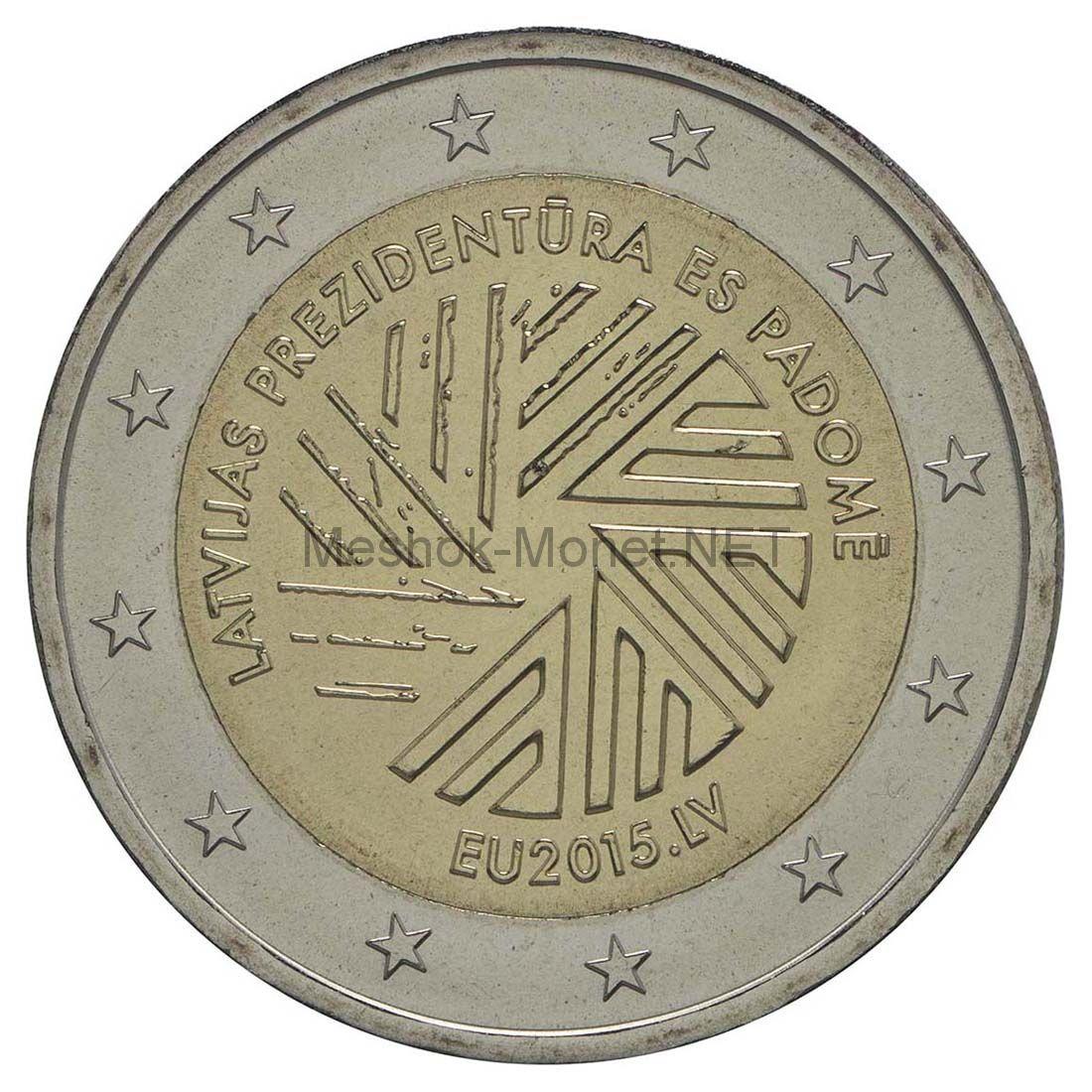 Латвия, 2 евро 2015, Председательство в ЕС