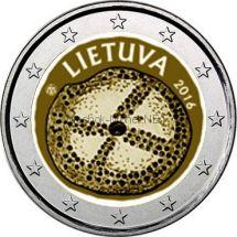 Литва, 2 евро 2016, Балтийская Культура