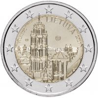 Литва, 2 евро 2017, Вильнюс