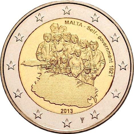 Мальта 2 евро 2013, Собственное правительство 1921 года