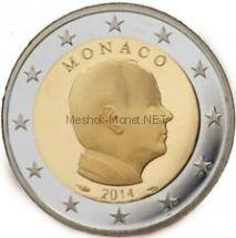Монако 2 евро 2014, Князь Монако Альберт II