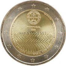 Португалия 2 евро 2008 Права человека