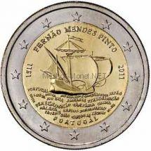 Португалия 2 евро 2011, 500 лет со дня рождения Фернана Мендеса Пинто