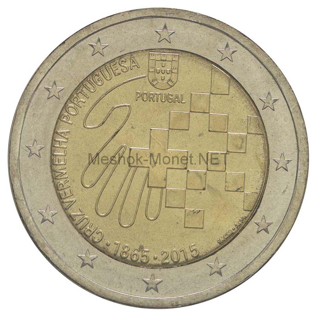 Португалия 2 евро 2015, 150 лет Португальскому Красному Кресту
