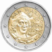 Сан-Марино 2 евро 2006 Христофор Колумб (буклет)