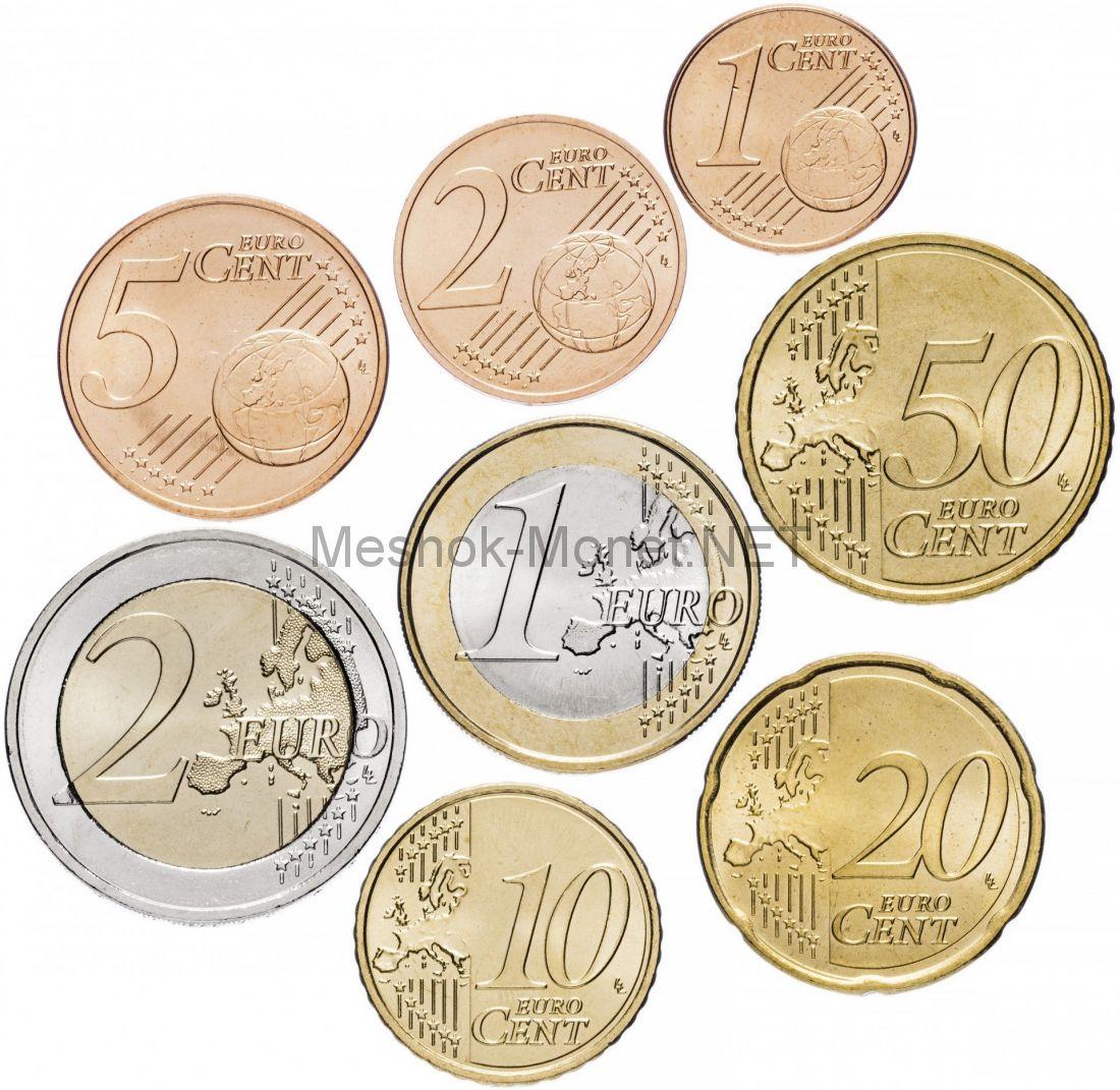 Словения, евро 2007 г, Набор из 6 монет