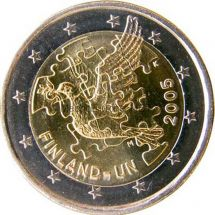 Финляндия 2 евро 2005 ООН