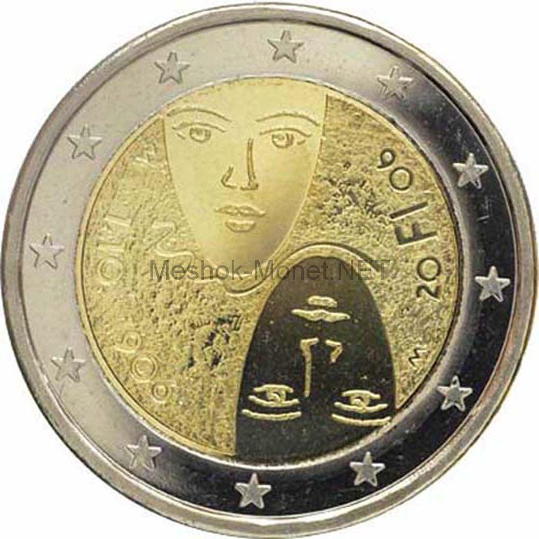 Финляндия 2 евро 2006 Избирательное право