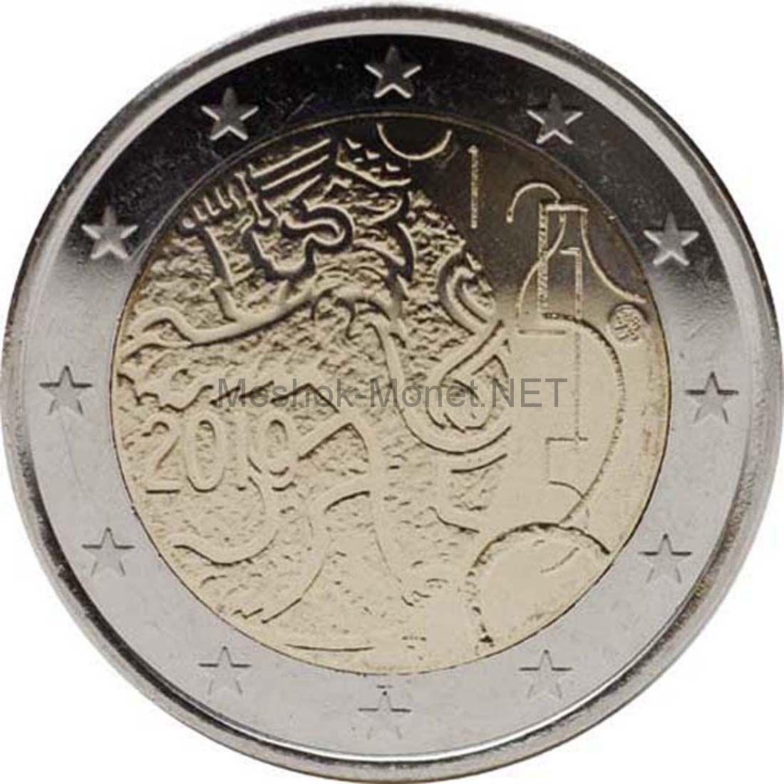 Финляндия 2 евро 2010, 150 лет марке