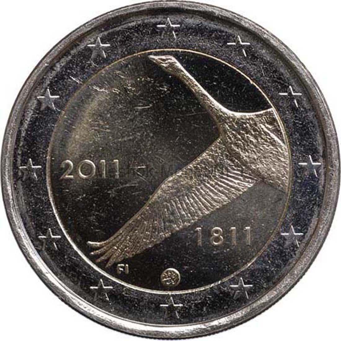 Финляндия 2 евро 2011, 200 лет банку