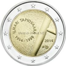 Финляндия 2 евро 2014 Илмари Тапиоваара