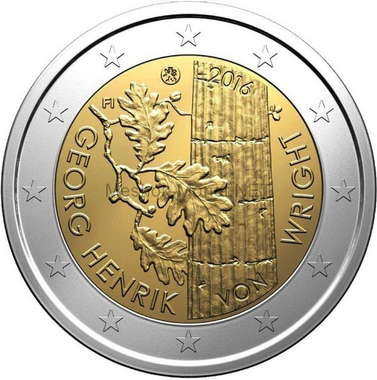 Финляндия 2 евро 2016, Георг Хенрик фон Вригт