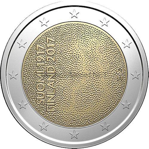 Финляндия 2 евро 2017, 100 лет независимости
