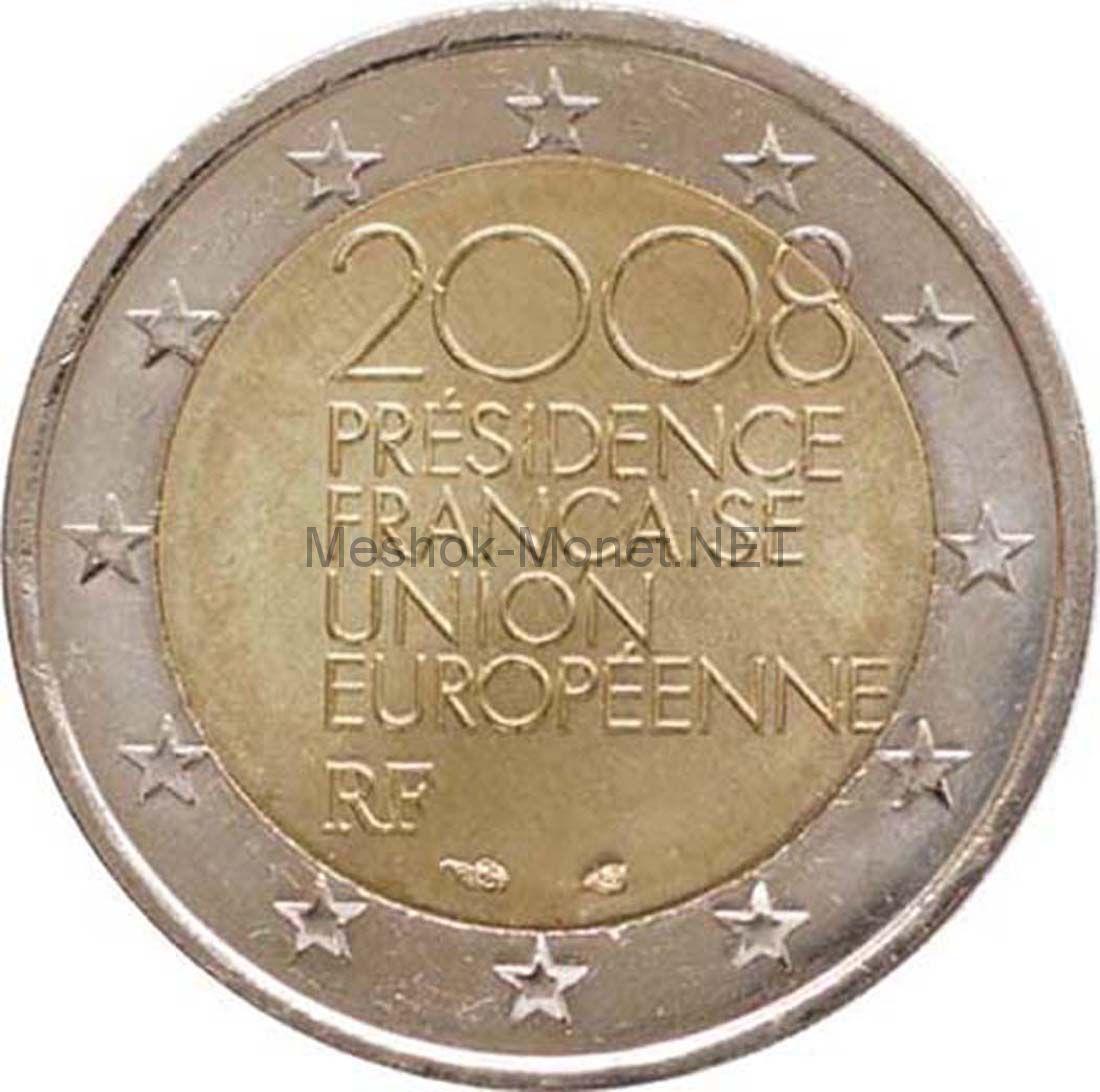 Франция 2 евро 2008 Председательство в ЕС