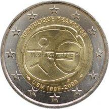 Франция 2 евро 2009, 10 лет экономическому и валютному союзу