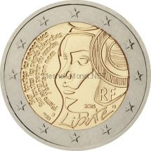 Франция 2 евро 2015 Праздник федерации - День взятия Бастилии