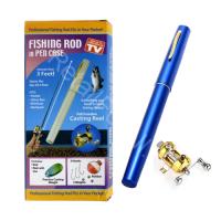 Карманная удочка в виде ручки  Fishing Rod in Pen Case