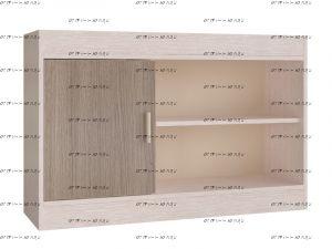 Полка навесная Паскаль (97х63х31)