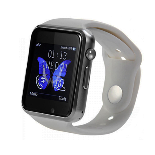 Умные часы Smart Watch на Аndroid W8 (серебряный)