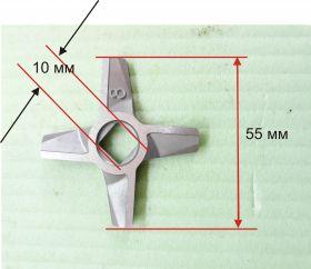 Нож 8 двусторонний к мясорубке Zelmer
