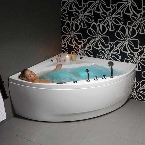 Гидромассажная ванна с подсветкой Balteco Linea 14 140x140 ФОТО
