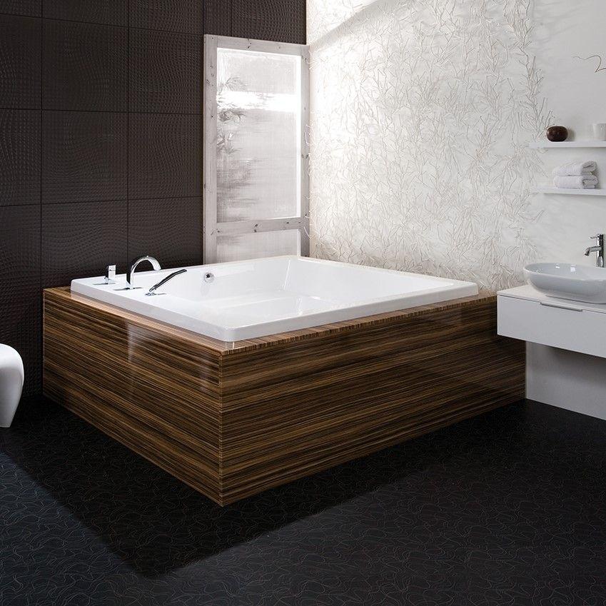 Гидромассажная ванна Balteco Quadrum 178x178 ФОТО