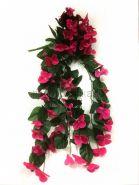 Искусственные висячие цветы 60 см.