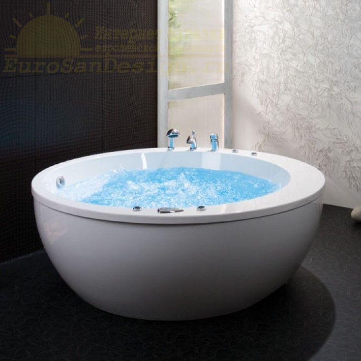 Гидромассажная ванна Balteco Madonna XL 173x173 ФОТО
