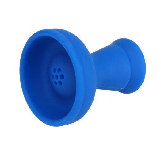 Силиконовая Чаша для кальяна  №1 (синяя)