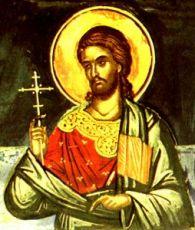 Кандид Севастийский (рукописная икона)